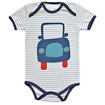 Car Short Sleeve Bodysuit