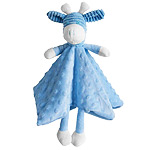 Giraffe Security Blanket in Blue