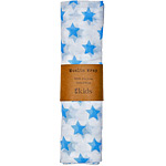 Muslin Wrap in Blue Stars