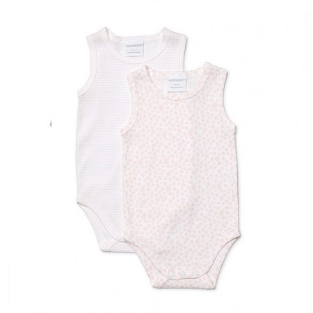 Marquise Girls Seevelless Bodysuit Pink