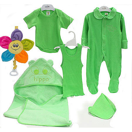 Bright Green Gift Set