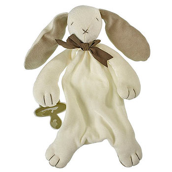 Bunny Comforter by Maud N Lil in Grey
