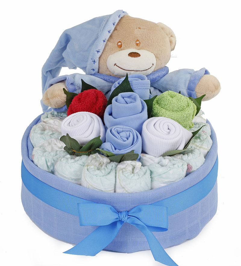 Bedtime nappy cake bouquet boy my baby gifts bedtime nappy cake bouquet boy negle Gallery