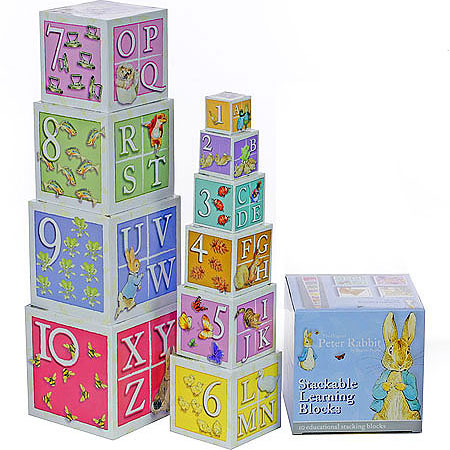 Peter Rabbit Learning Blocks