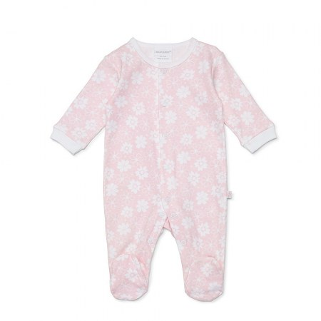 Marquise Floral Girls Growsuit Pink