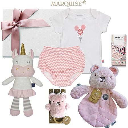 Marquise Deluxe Spring Baby Hamper