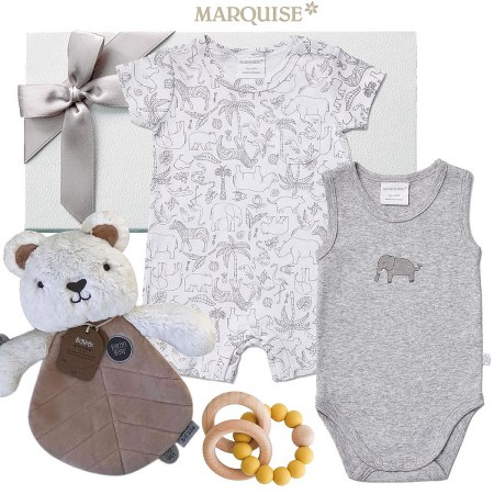 Marquise Zoo Animals Baby Gift Hamper