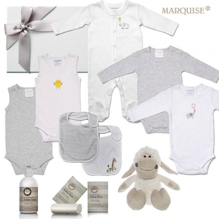 Marquise Deluxe Unisex Baby Gift Set