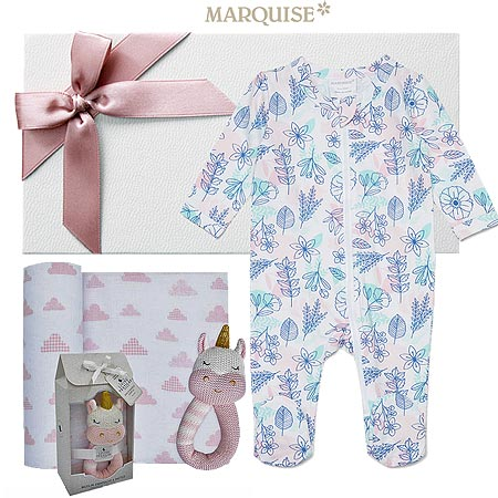 Marquise Floral Baby Girl Hamper
