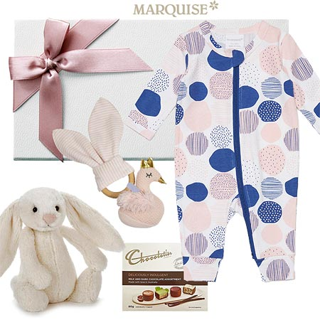Marquise Spotted Baby Gift hamper