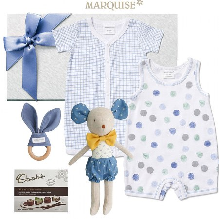 Marquise Baby Boy Spotted Gift hamper