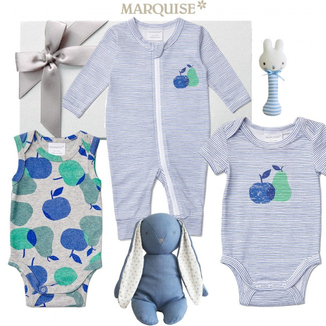 Marquise Deluxe Apples & Pears Baby Hamper