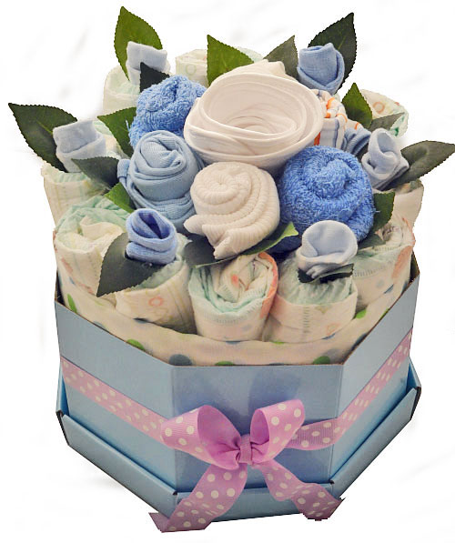 Baby Boy Bouquet Large