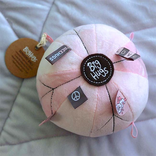 Sensory Ball in Pink