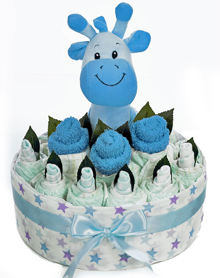 Blue Giraffe Bouquet