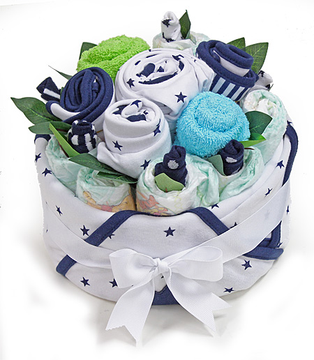 Blue Star Bouquet for a Boy