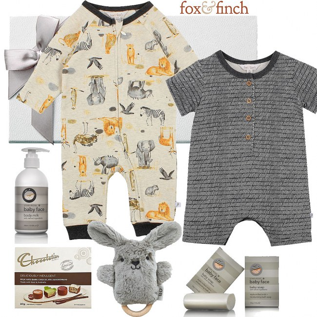 Fox & Finch Safari Baby Hamper
