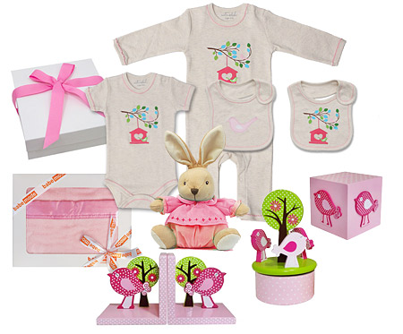 Bird Tree House Gift Set