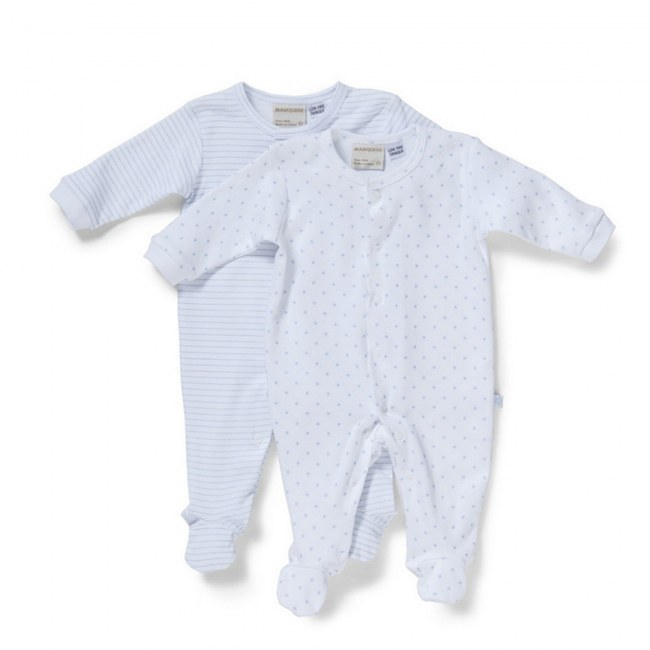 Marquise Star Stripes Growsuit 2 Pack