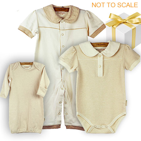 Unisex Organic Cotton Gift Set