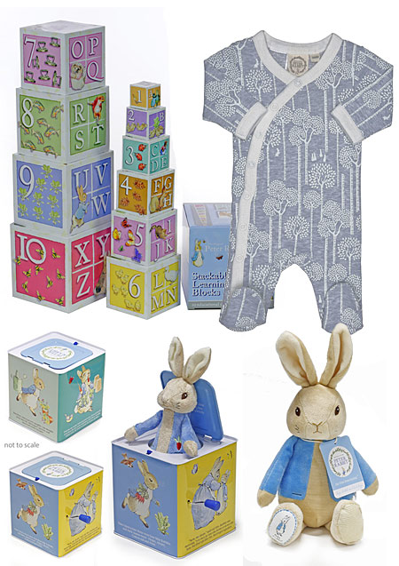 Peter Rabbit Gift Set for a Boy