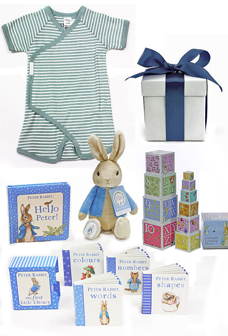 Peter Rabbit Baby Gift Sets : Peter rabbit gift hamper my baby gifts