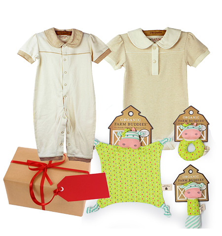 Organic Gift Set for a Girl