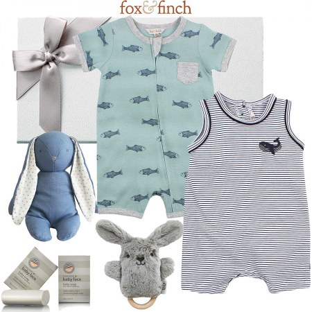 Fox & Finch Ocean Baby Hamper