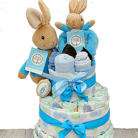 Peter Rabbit 3 Tier Nappy Cake