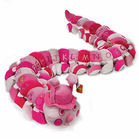 Baby Girl Caterpillar in Assorted Pinks
