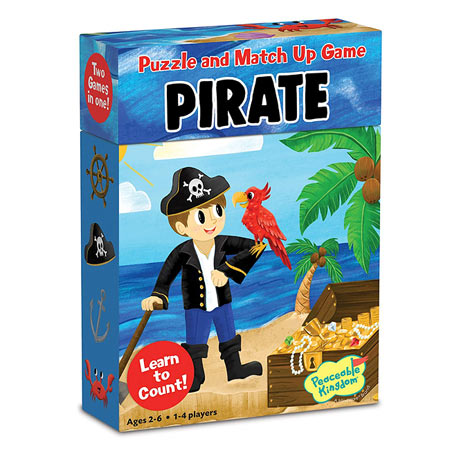 Pirate Match Up Game & Puzzle