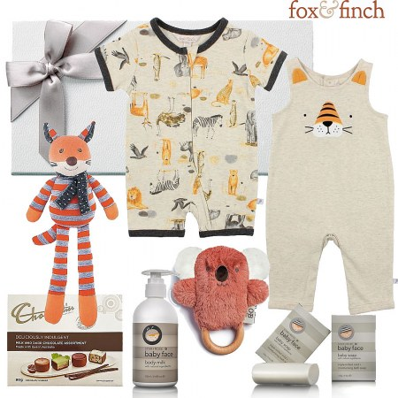 Fox & Finch Spring Baby Hamper
