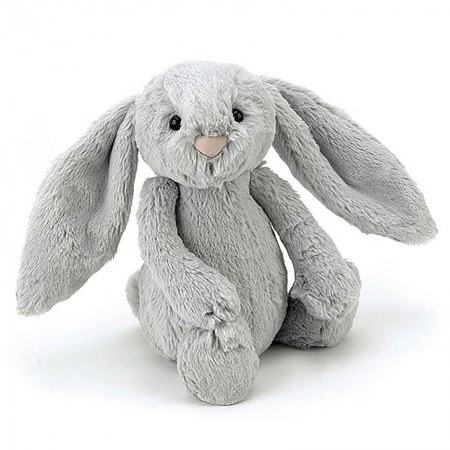 Jellycat Bashful Silver Bunny Small