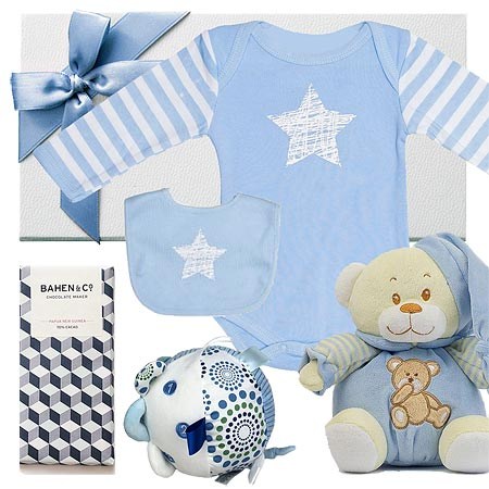 Star Bright Boy Hamper & Activity Ball
