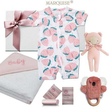 Marquise Strawberry Baby Hamper