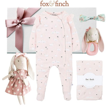 Fox & Finch Swan Lake Baby Hamper
