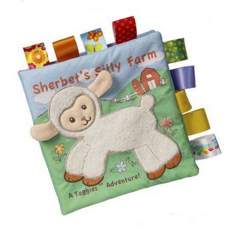 Taggies Sherbert Lamb Soft Book