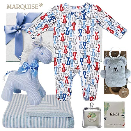 Marquise Tiger Zipsuit Hamper