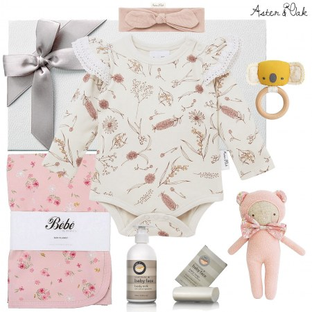 Aster & Oak Wildflower Tutu Hamper