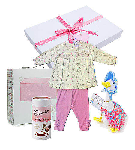 Baby Girl Babaluno Gift Set