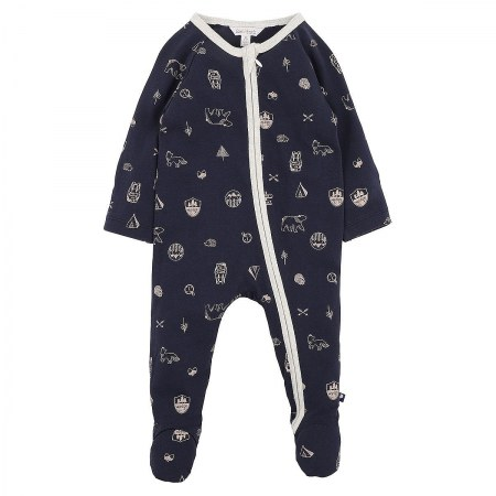 Fox & Finch The Woods Zip Romper
